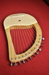 12 String Sycamore Lyre 5