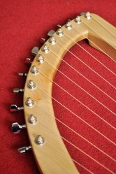 12 String Sycamore Lyre 2
