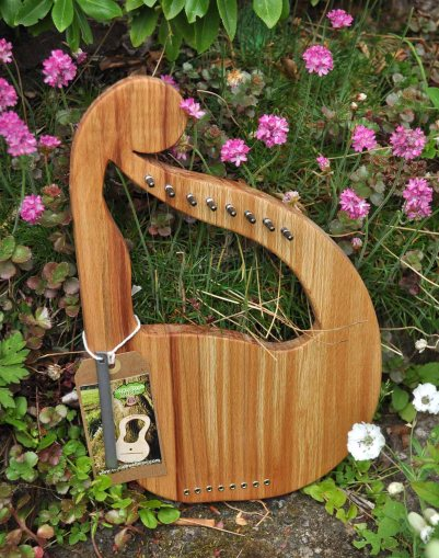 Scottish Beech mini harp