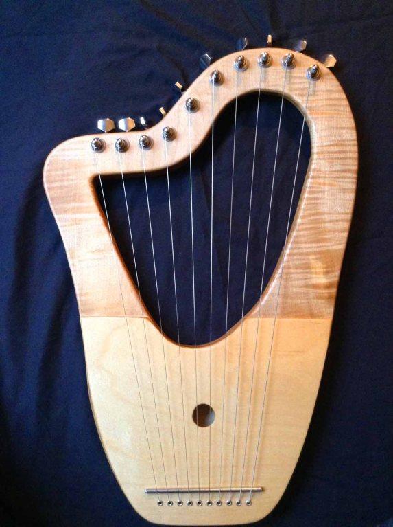 10 String Sycamore Lyre 3